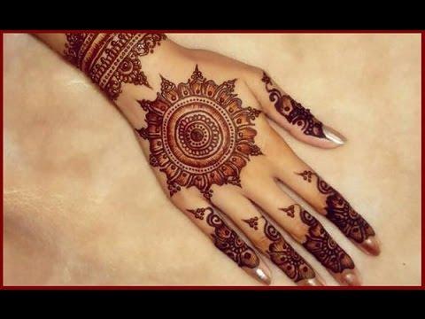 Arabic Bridal Mehndi Designs For Hands 2017 2018 Youtube