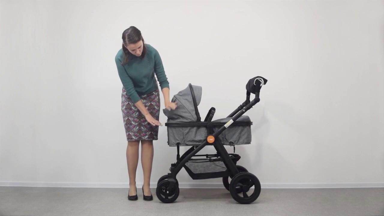 Обзор детской коляски 2в1 - YouTube