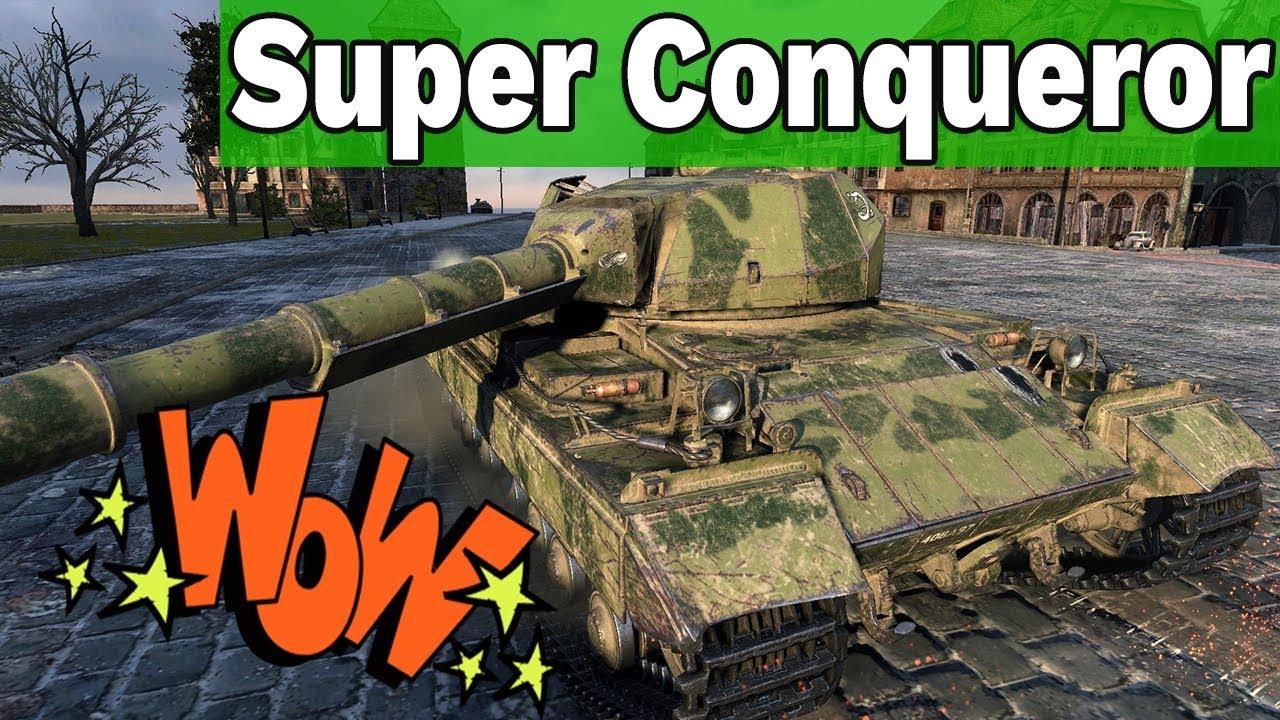ŚWIETNA X! – SUPER CONQUEROR – World of Tanks