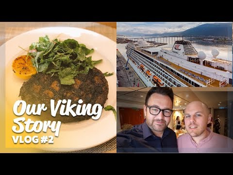 Our Viking Story | The first night onboard! | Ep 2