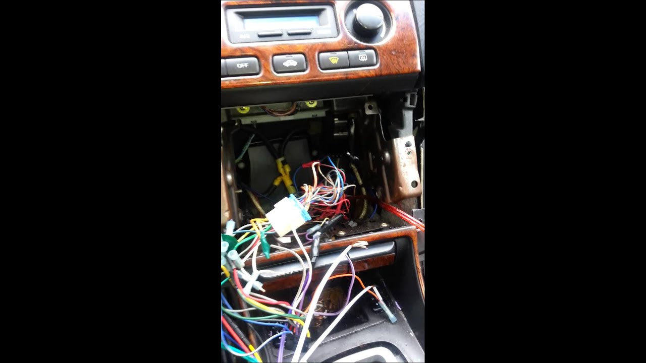 1999 Acura tl radio installation YouTube