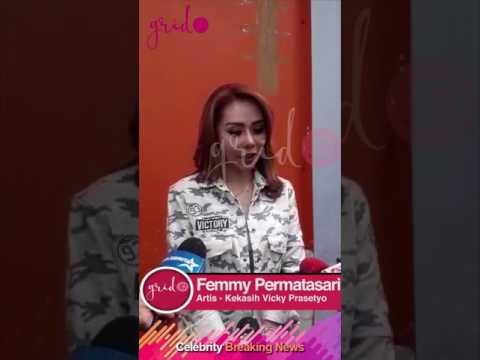 Femmy Permatasari Mengakui Dirinya Kekasih Vicky Prasetyo thumbnail