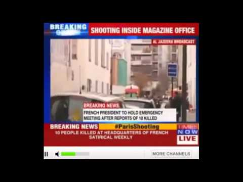 Paris France Shooting   11 dead In Shooting At French Satirical Newspaper Charlie Hebdo   VIDEO