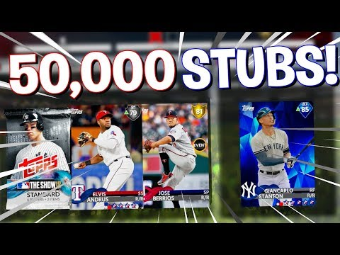 50,000 STUBS ON THE LINE! MLB The Show 18 | Battle Royale