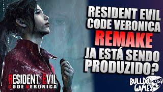 Resident Evil Code Veronica REMAKE É O Jogo SECRETO Que Já Esta Sendo PRODUZIDO Pela Capcom?!