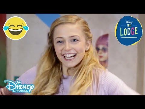 The Lodge  Hula Hoop Challenge ft. Sophie Simnett   Disney Channel UK