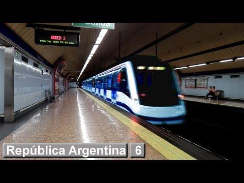 Metro de Madrid : República Argentina L6 ( Serie 8400 )