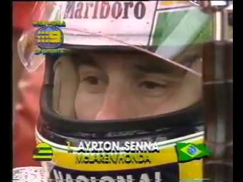 Ayrton Senna - Drama at the 1989 Adelaide F1 GP