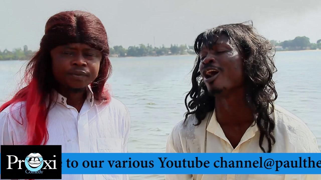 John The Baptist ( Paulflomo-the comedian, Angel Michael & Arthur Arthur )  Liberian Comedy 2017