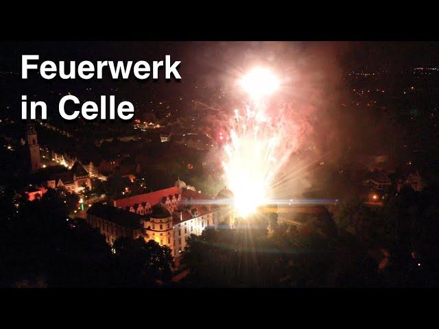 Feuerwerk vor dem Celler Schloss - Start in den Kultursommer 2021