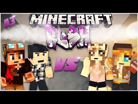 Minecraft - RUSH AVEC OCTOBER21  ! #03