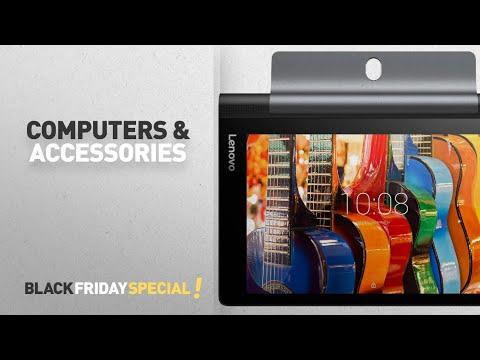 Black Friday Computers & Accessories: Lenovo Yoga Tab 3 8 Tablet (8 inch, 16GB, Wi-Fi + 4G), Slate