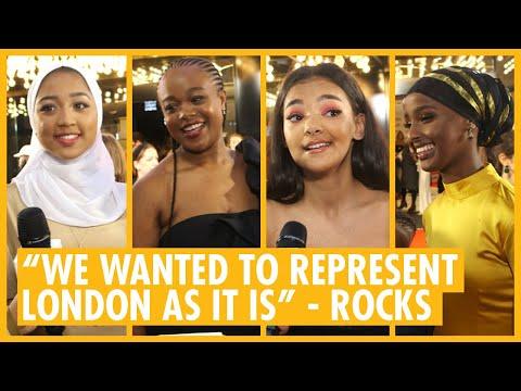 """Generous, Brave and Bold"" Rocks Film Premiere Interviews - London Film Festival"
