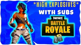🔴HIGH EXPLOSIVE DUBS//SUB GAMES//CODE NICTRIXYT: FORTNITE BATTLE ROYALE (LIVE)