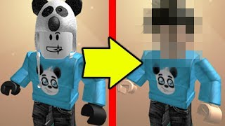 CHANGING MY ROBLOX CHARACTER TO A HUMAN..
