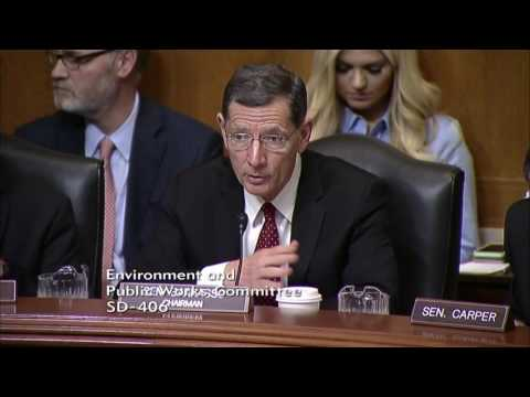 Chairman Barrasso Questions Secretary Chao on the Impact of Regulations on Rural Communities