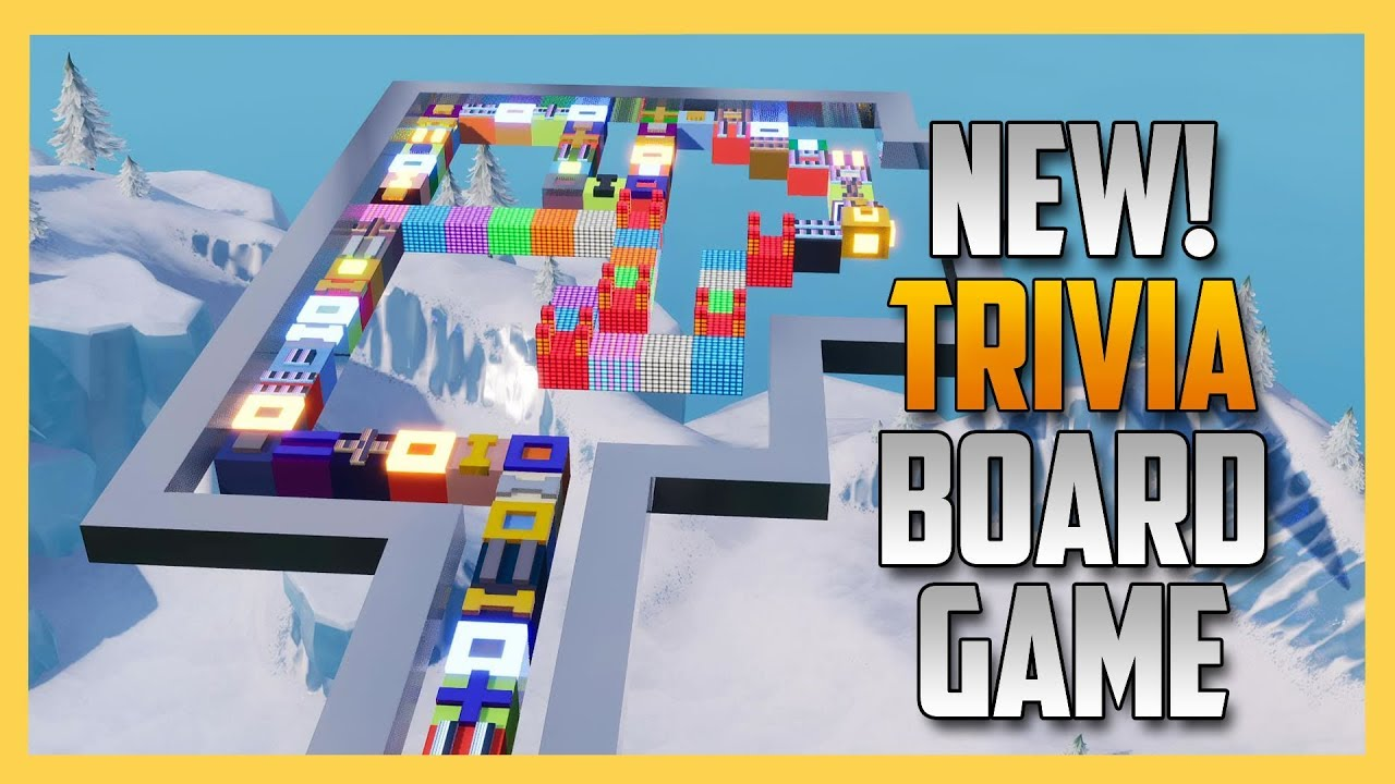 New Trivia Board Game In Fortnite Creative Swiftor