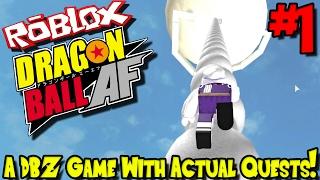 EIN DBZ-SPIEL MIT AKTUELLEN QUESTS!   Roblox: Dragon Ball AF (Nach Zukunft) - Episode 1