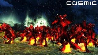 FALLOUT 4 BATTLE #16 - 20,000 Demon Deathclaw VS. Brotherhood of Steel Castle