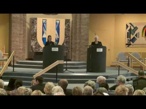 Secretary of State Debate - Congregation Albert