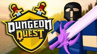 THIS NEW ROBLOX GAME IS AMAZING!! (ROBLOX DUNGEON QUEST)