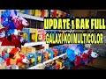 UPDATE 1 RAK FULL INDUKAN GALAXI KOI MULTICOLLOR