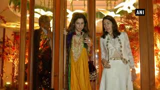 Watch: The Bachchans , Kapoors, turn heads at Saudamini Mattu's wedding reception