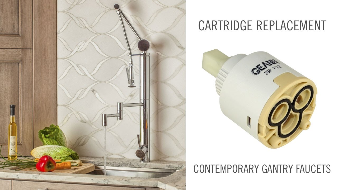 Cartridge Replacement on Contemporary Waterstone Gantry Faucets ...