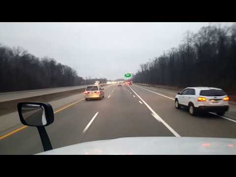 BigRigTravels LIVE! Lansing to Canton, Michigan Interstate 96 East-Dec. 10, 2018