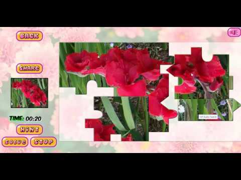 puzzles-of-flowers