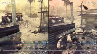 Ghost Recon: Future Soldier Xbox 360/PS3 Gameplay Frame-Rate Analysis