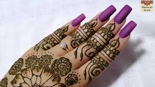 59 amazing mehndi for bride نقش هندي راءع للعروس