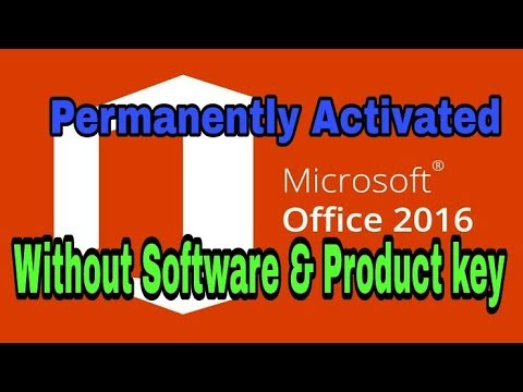 Permanently Activate Microsoft Office 2016 Pro Without Any