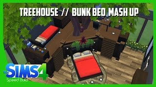 Sims 4 Speed Build - Treehouse / Bunk Bed Room