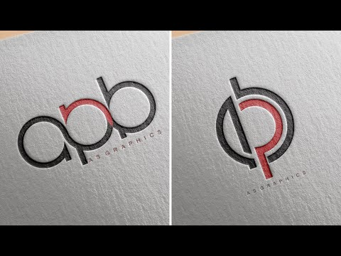 Logo Design tutorial - How to Make 3 Latter Logo in Coreldraw x7 thumbnail