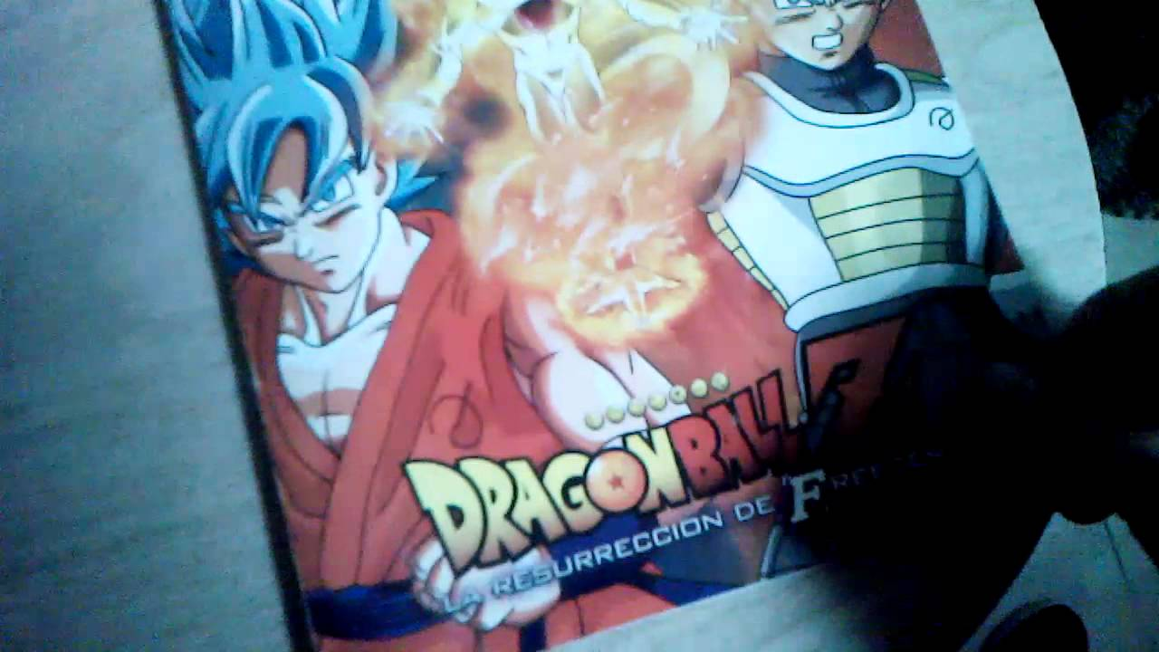 Libro para colorear de Dragon Ball Z la resurrección de Freezer ...