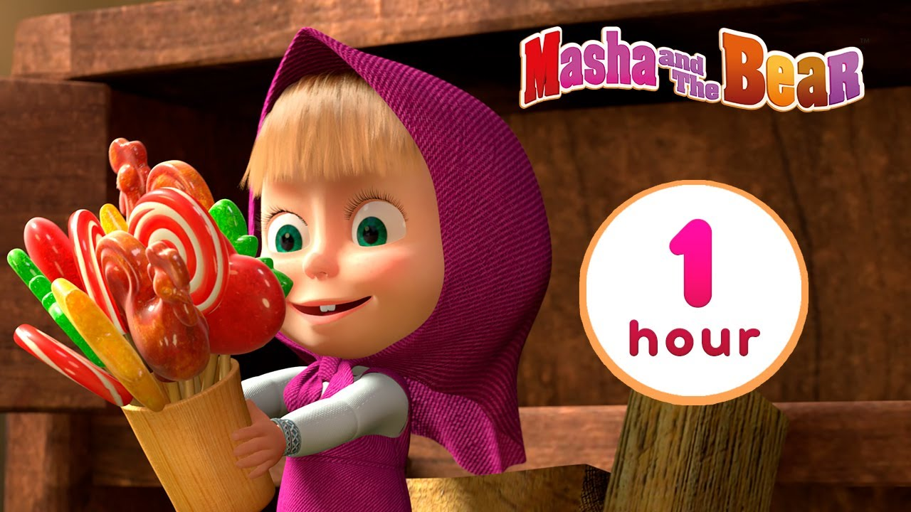 Download Masha and the Bear 🐻👱♀️ LET'S PLAY PRETEND! 🧸 1 hour ⏰ Сartoon collection 🎬