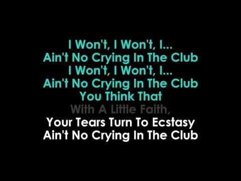 Crying in the Club karaoke Camila Cabello