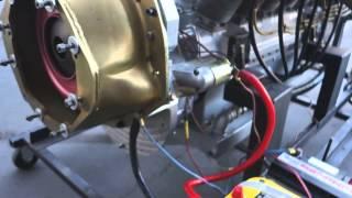 Ranger V12 Aircraft Engine Run