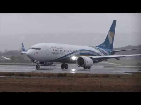 Boeing B737 Max - Oman Air A40-MB - Glasgow Airport [4K/UHD]