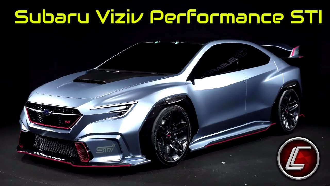 2020 subaru viziv performance sti concept - interior - exterior - performance