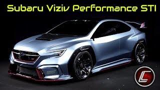 2020 Subaru Viziv Performance STI Concept - Interior - Exterior - Performance