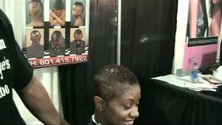 international hair show 2011 video #1.AVI