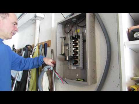 Installing an EV Charging Station Part II: Installing a Circuit Breaker #cb99videos #circuitbreaker