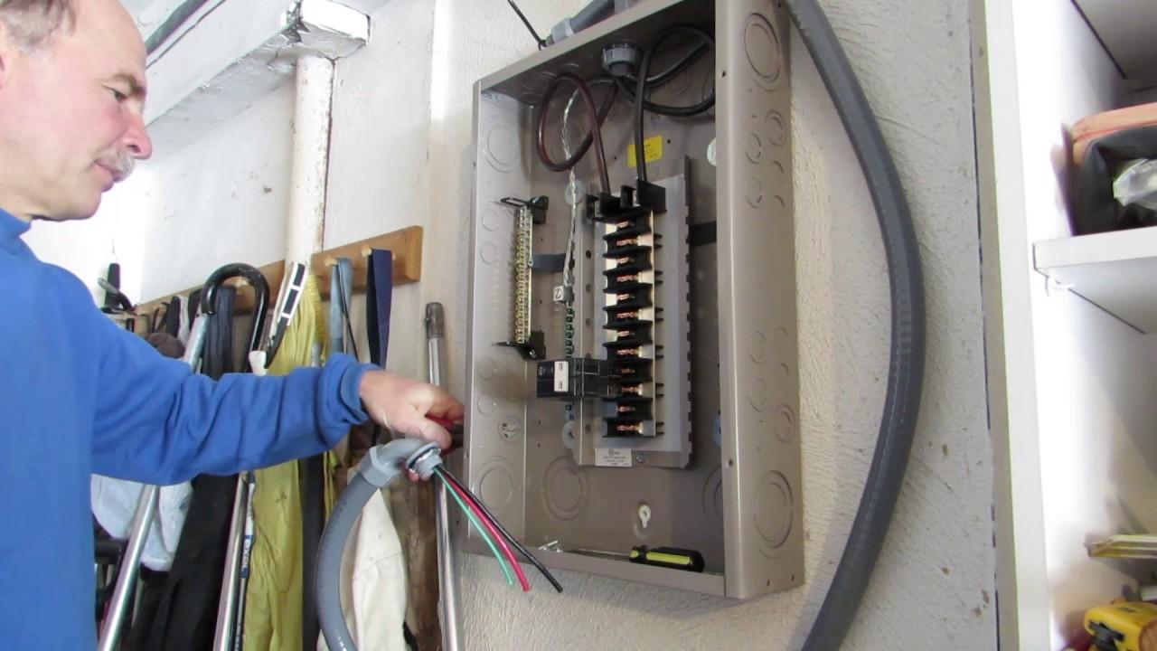 installing an ev charging station part ii installing a circuit breaker cb99videos circuitbreaker [ 1280 x 720 Pixel ]
