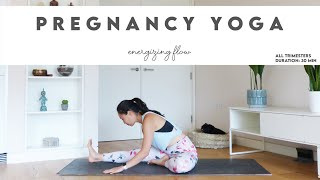 30-Min Pregnancy Yoga | Energizing Flow | Lydia Lim Yoga