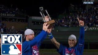 Jon Lester and Javier Baez share the MVP award | 2016 NLCS | FOX SPORTS