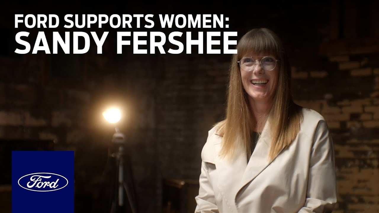 Ford Supports Women Who Power America Forward – Meet Sandy Fershee | Go Further | Ford