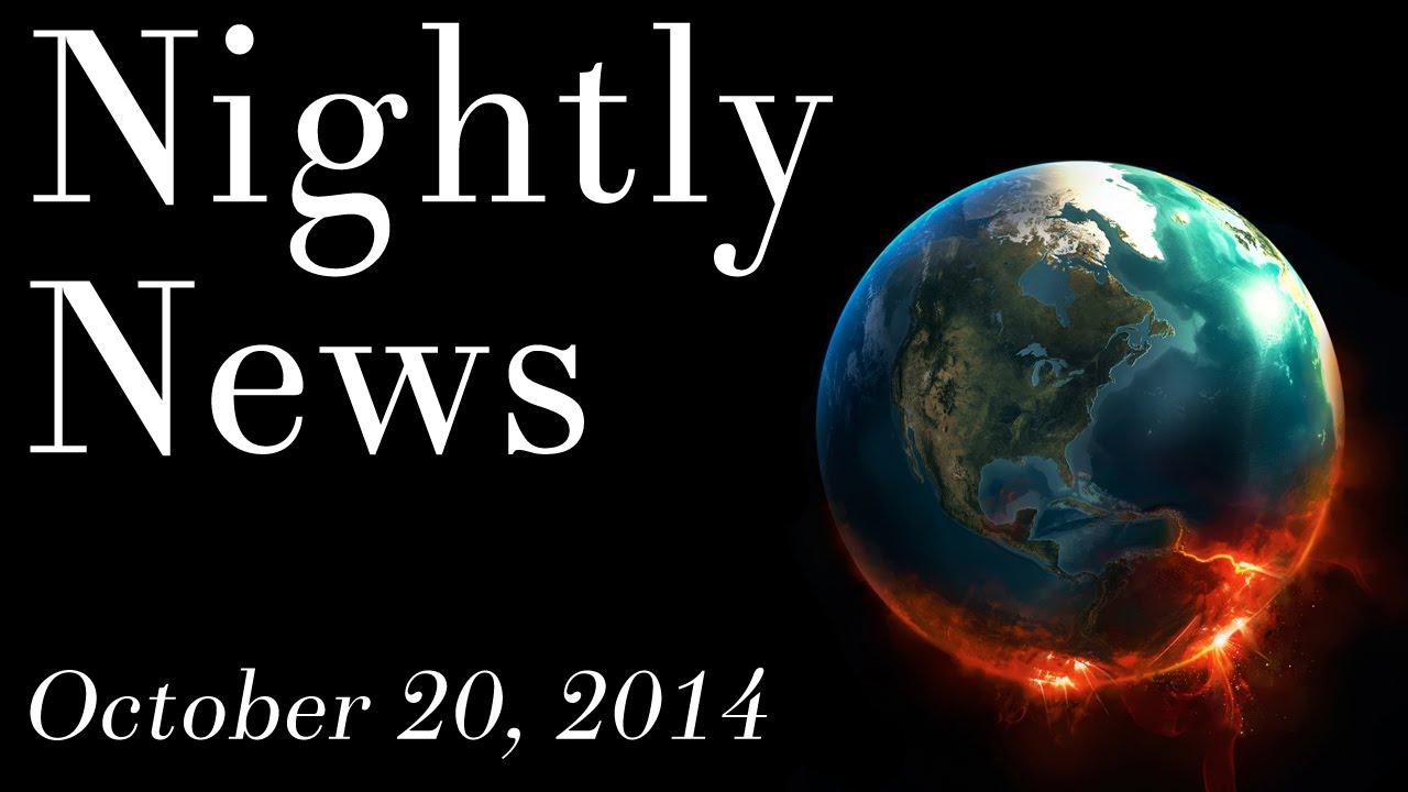 World News - October 20, 2014 - Breaking Ebola outbreak news, Wal-Mart doctors news, Twitter news
