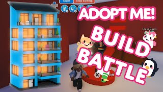 Team Adopt Me! compete in timed Build Battles! 🏡 Adopt Me! on Roblox